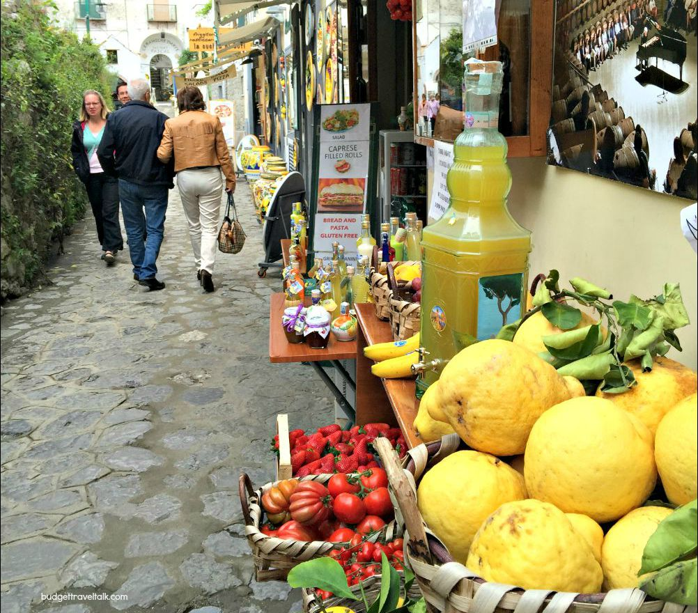 Ravello Lemons and Ceramics