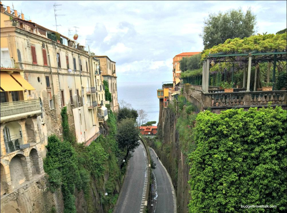 Sorrento Switchback Road