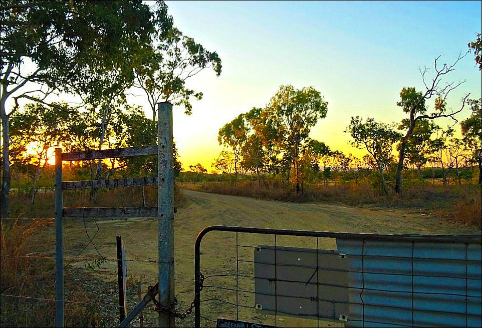 Yarrawonga Park Reserve gate is on the way to Notch Point Queensland