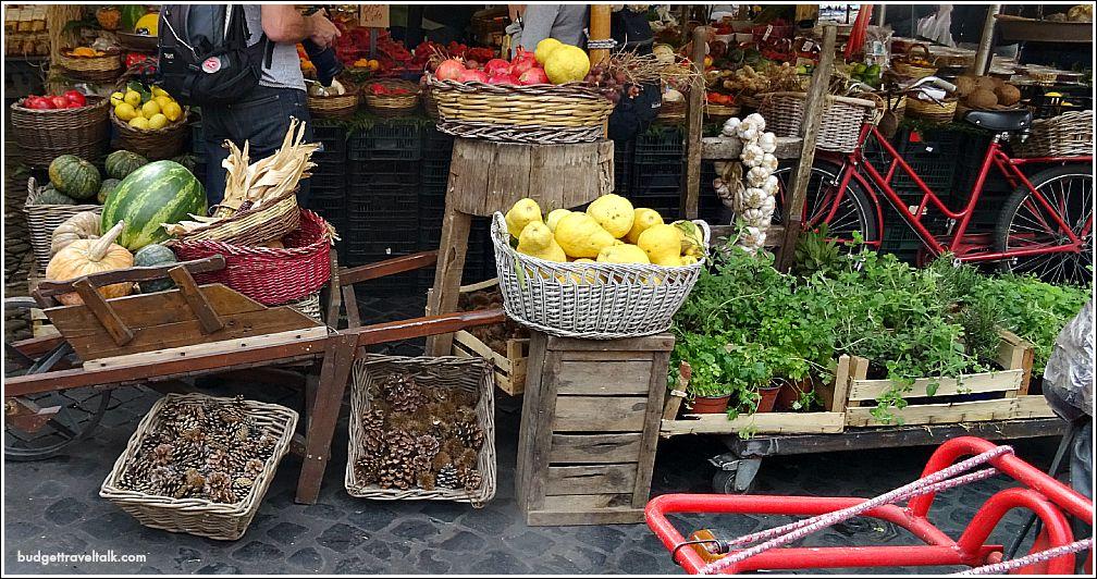 Rome Market Stall Campo de' Fiori