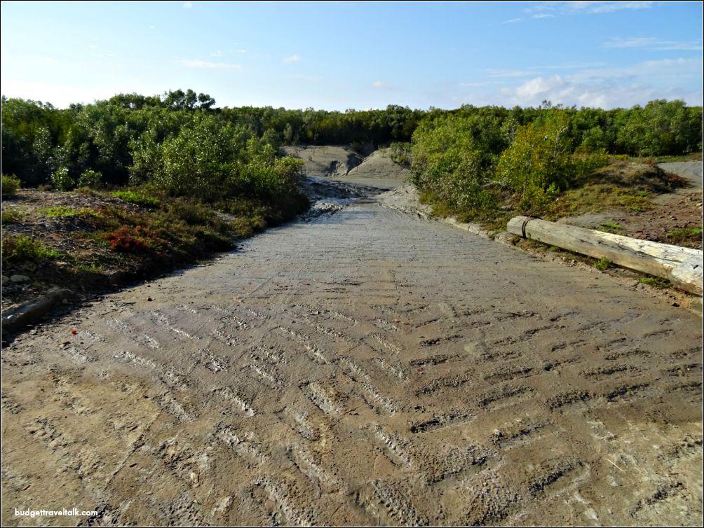 St. Lawrence Meatworks Creek Boat ramp