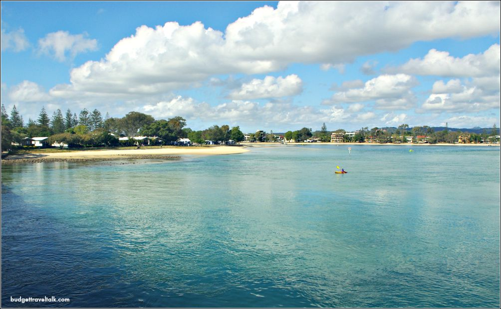Tallebudgera Creek on the Gold Coast