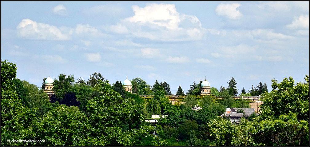 Zagreb Domes of Mirogoj Cemetery