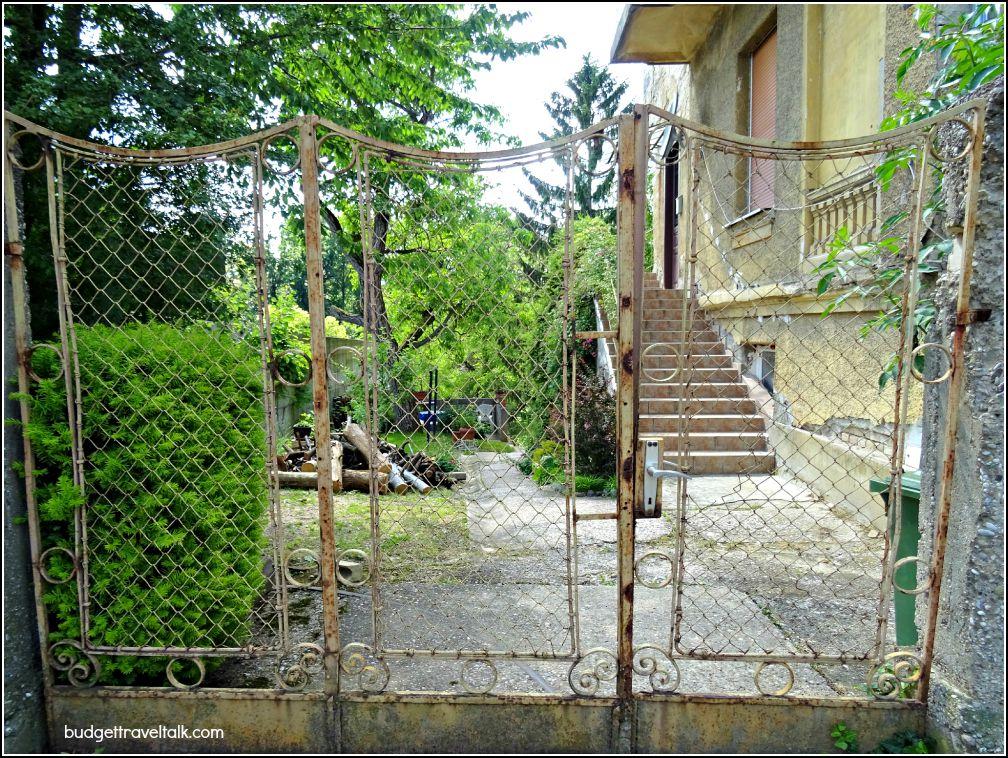 Old Villa Gate Zagreb
