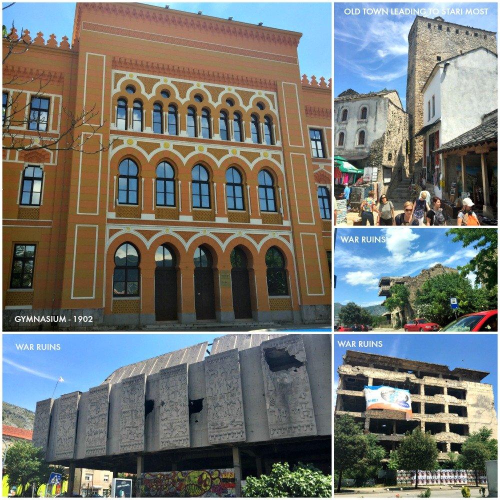Mostar Buildings