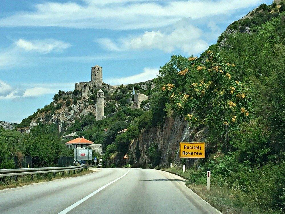 Neretva Citadel Pocitelj Bosnia