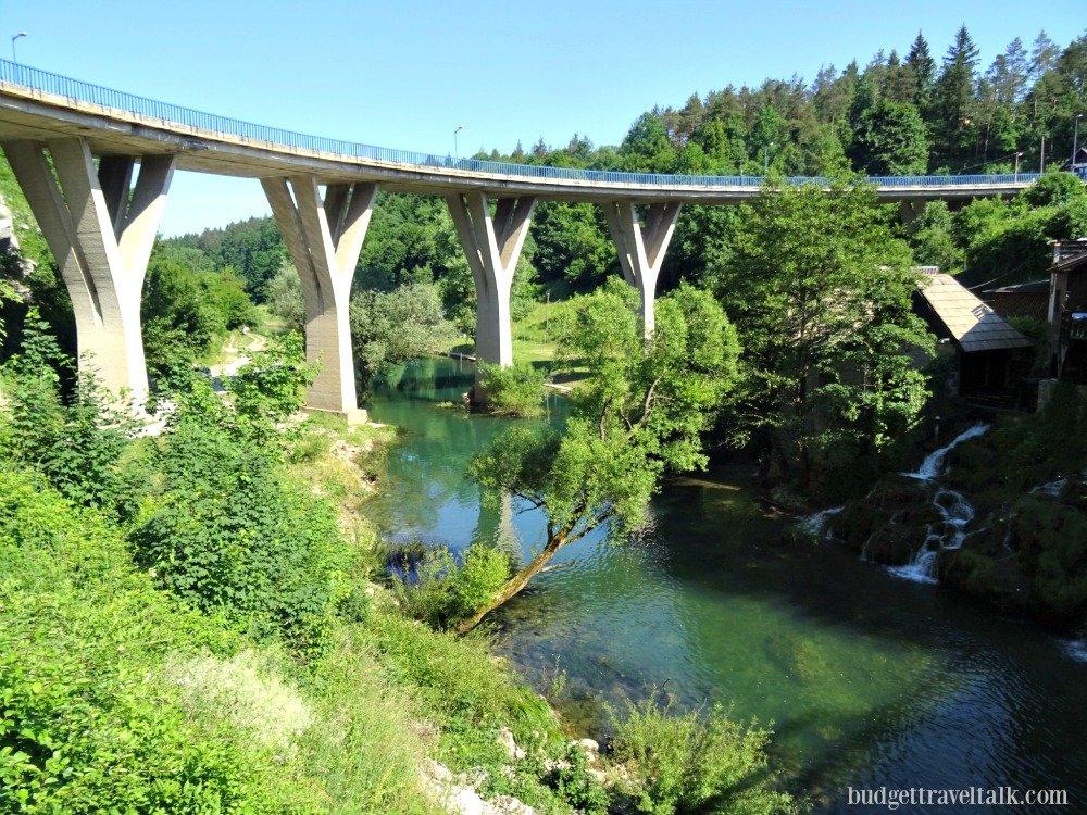 Rastoke Croatia bridge