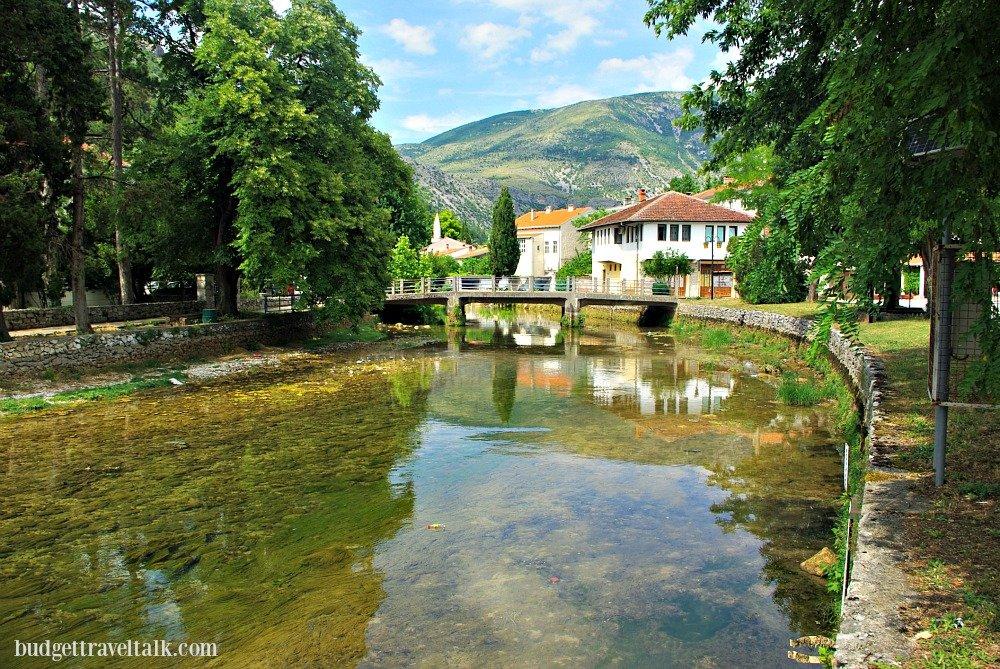 Stolac Bregava River BiH