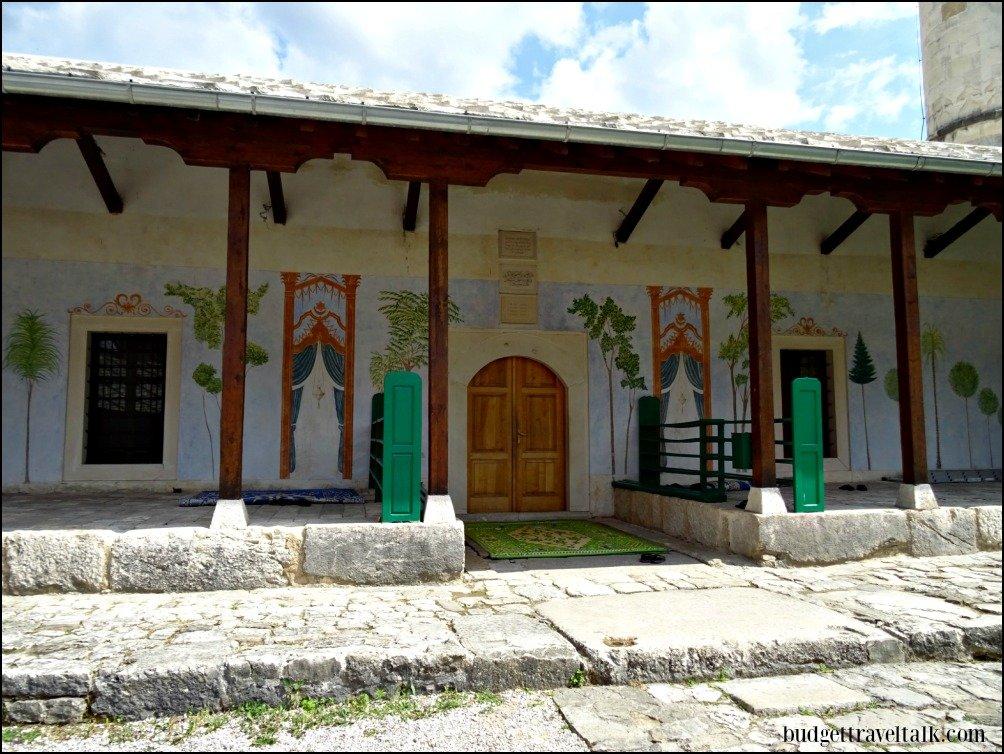 Stolac's rebuilt Carsijska Mosque BiH