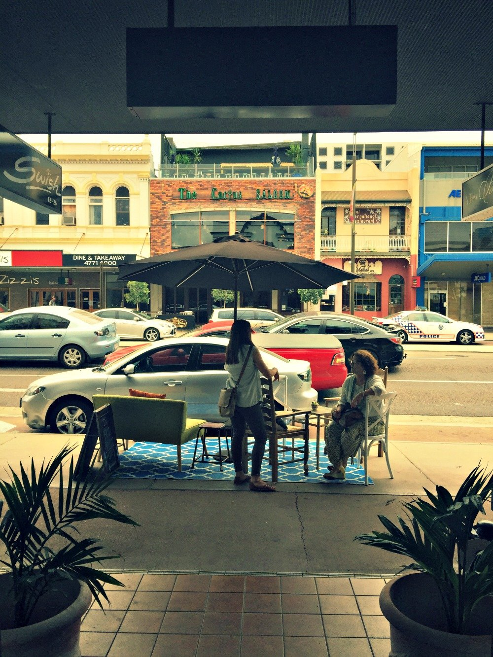 Townsville Hoi Polloi Flinders Street East Seating area