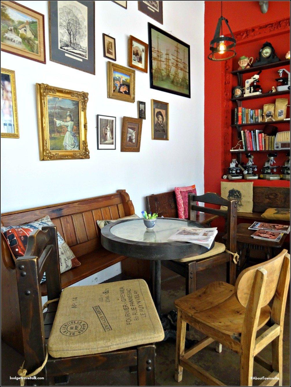 Townsville Hoi Polloi Library Corner