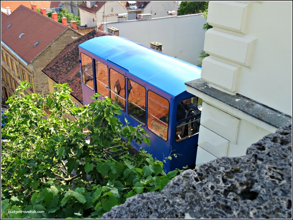 Zagreb Historic Cable Car Carriage