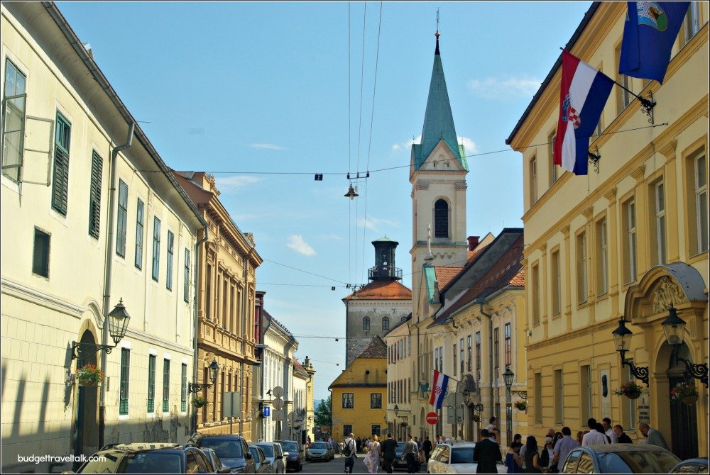 Zagreb Upper Town and Lotrscak Tower