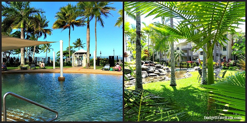 Coral Sands Pool and Garden at Trinity Beach Cairns