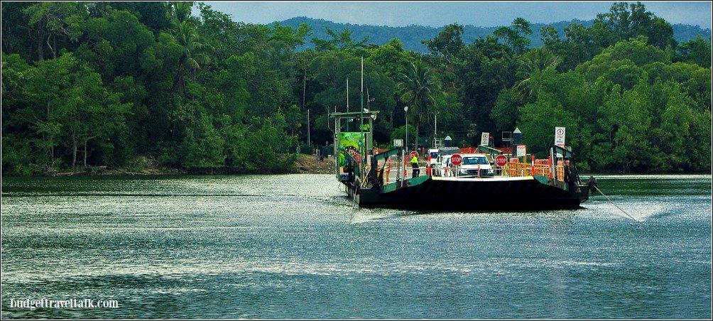 Daintree Barge