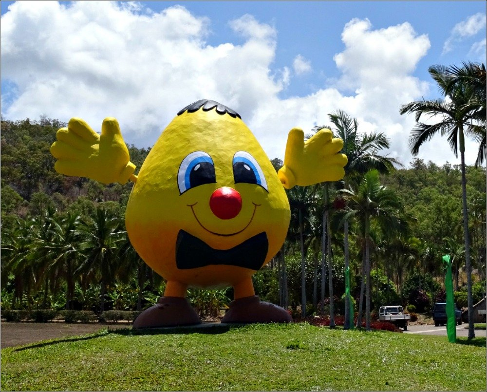 Lucinda Trip Frosty Mango Mascot