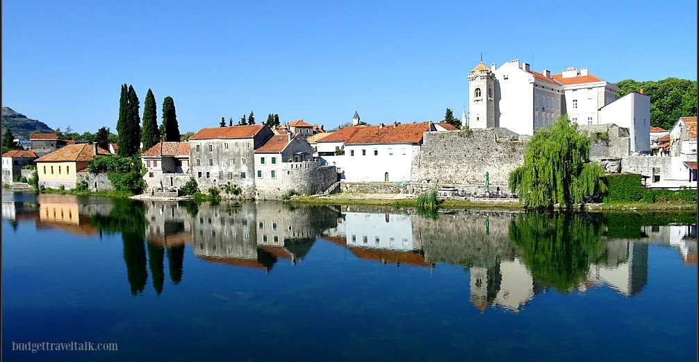 Trebinje Old Town Reflections BiH Republica Sprska