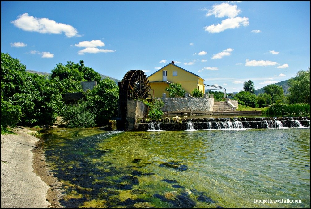 Trebinje Water Wheel and House BiH