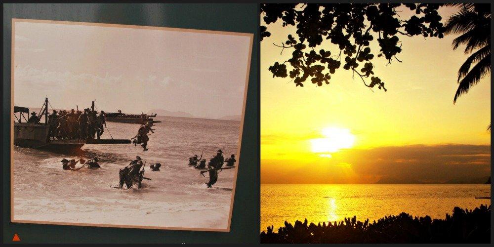 Trinity Beach War Training and Sunrise
