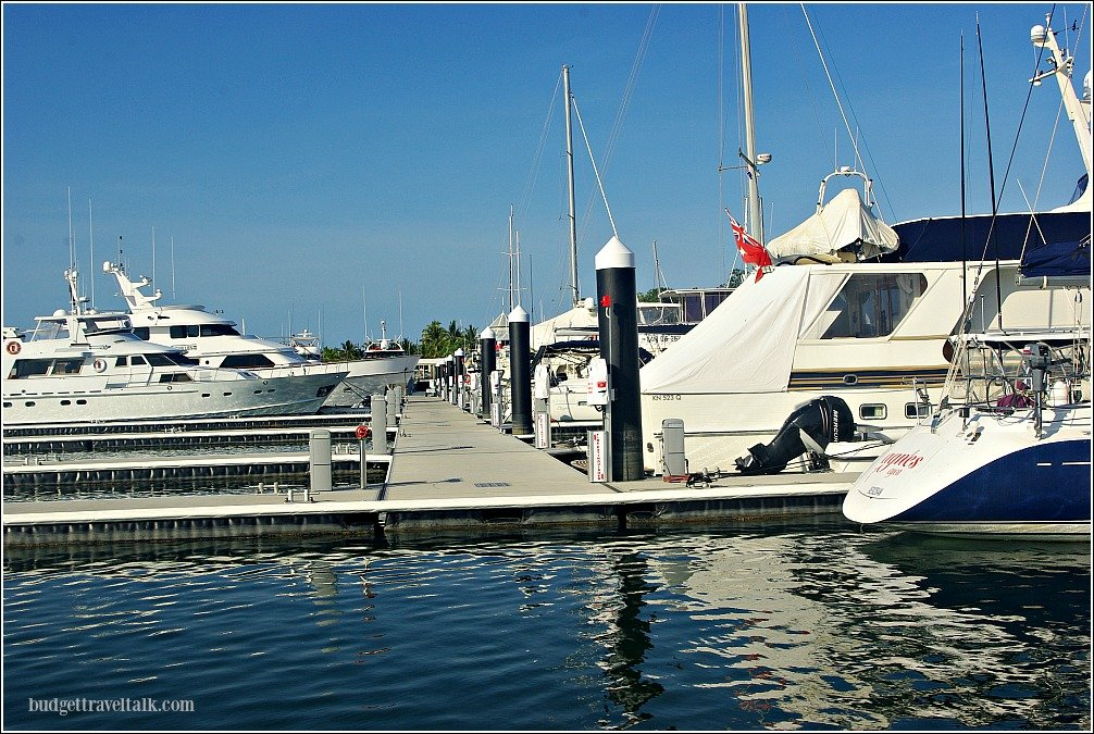 Port Douglas Boat Marina Tropical North Queensland