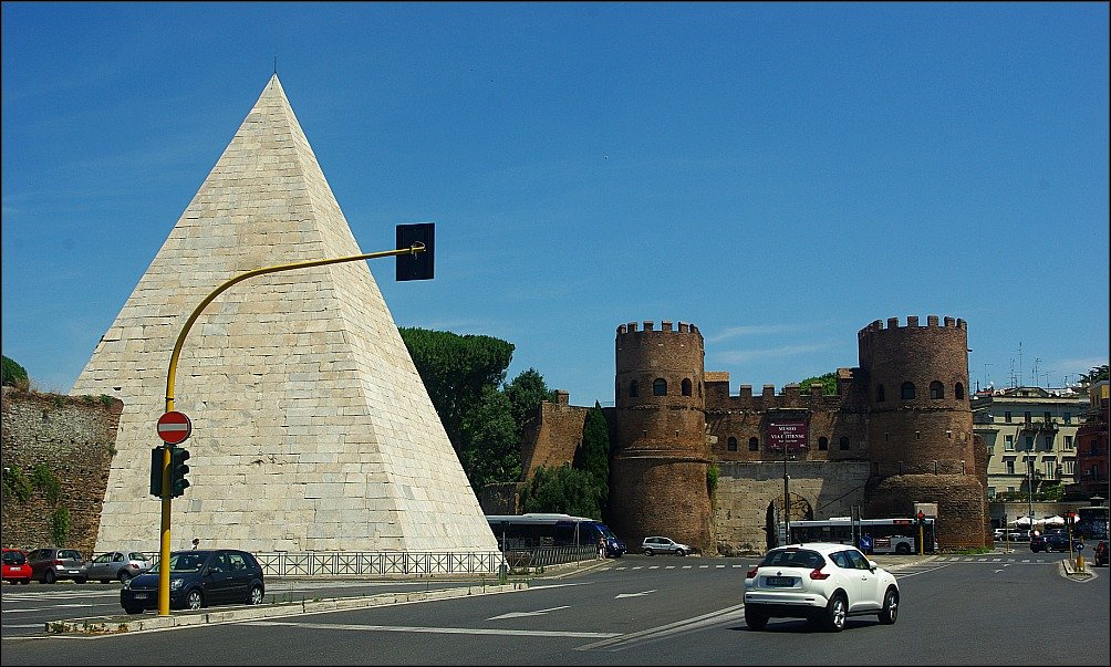 Pyramid of Cestius Rome