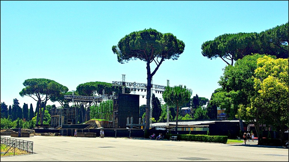 Rome's Terme di Caracalla Pink Floyd Ballet Stage