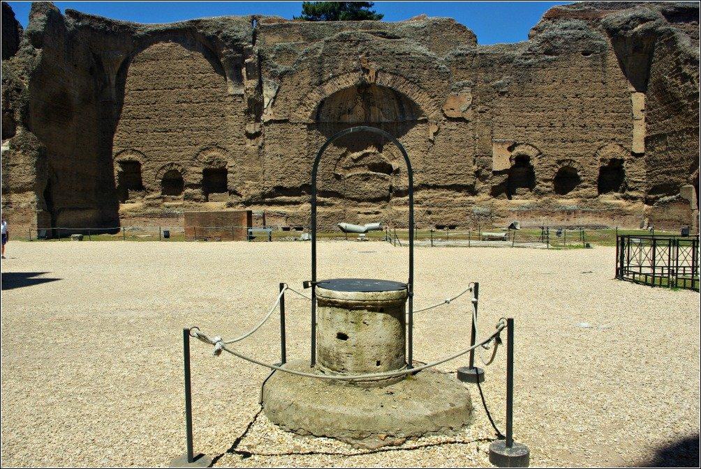 Terme di Caracalla Well