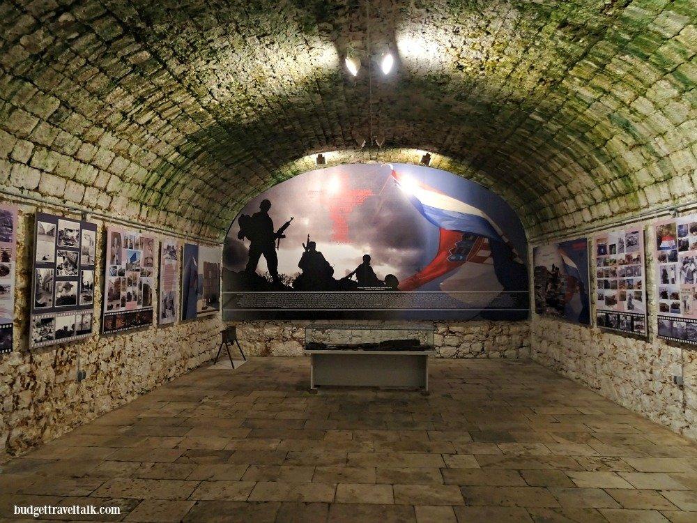 Dubrovnik's atmospheric Homeland War Museum Croatia
