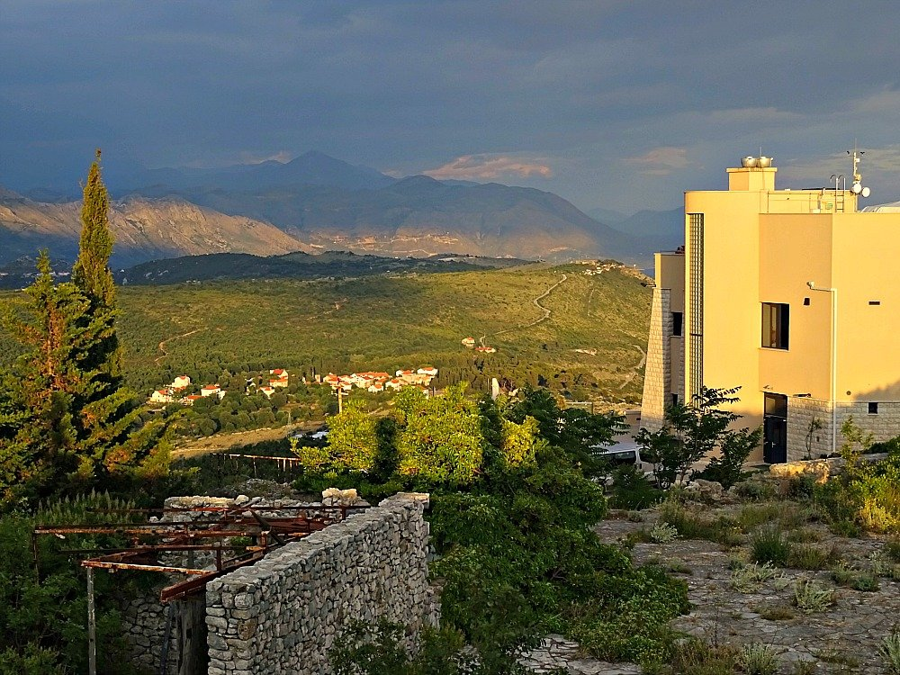 Dubrovnik Mt. Srd Cable Car Terminal - a modern twist on Mt. Srd.