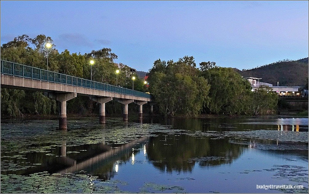 In the tradition of Valentines Day I've chosen the best kissing spots in Townsville. This one is Federation Bridge over the Ross River in Kirwan.