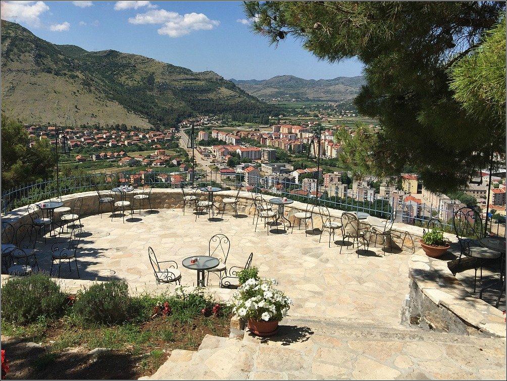 Gracanica church Restaurant View 2