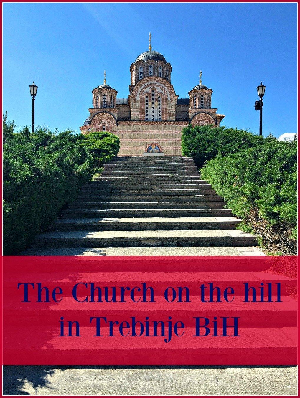 Gracanica Church Steps Trebinje