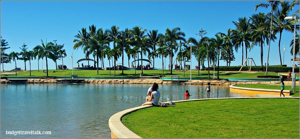 Budget Travel Tip Rock Pool Townsville