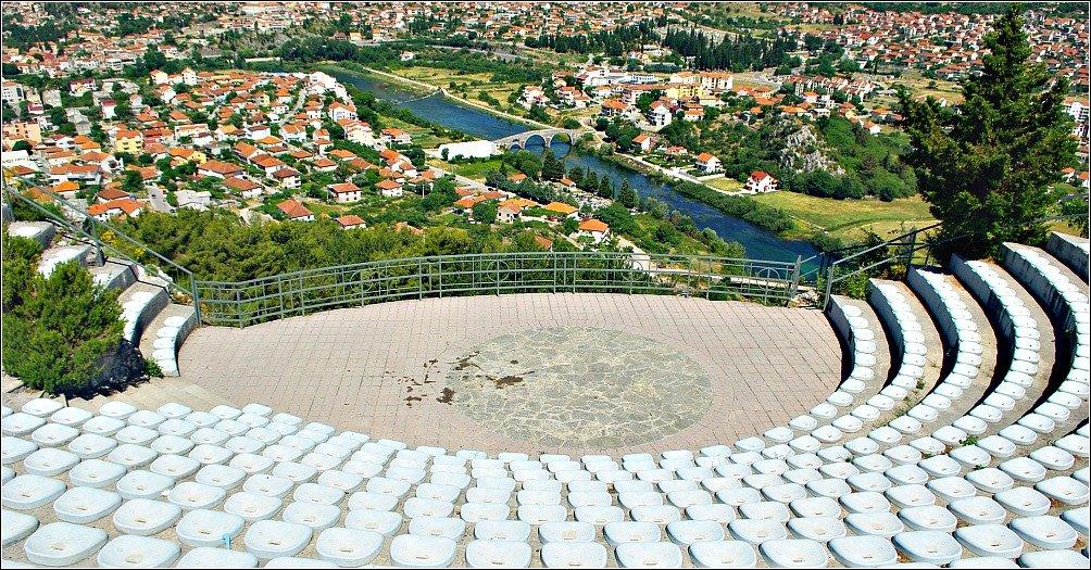 Trebinje BiH Amphitheatre Church on the Hill