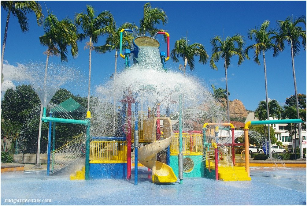 The Water Park on the Strand Townsville cools off kids of all ages.