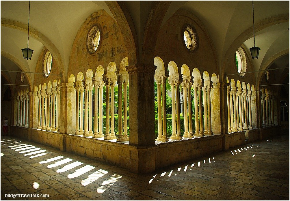 I couldn't resist Dubrovnik's Franciscan Monastery Cloister