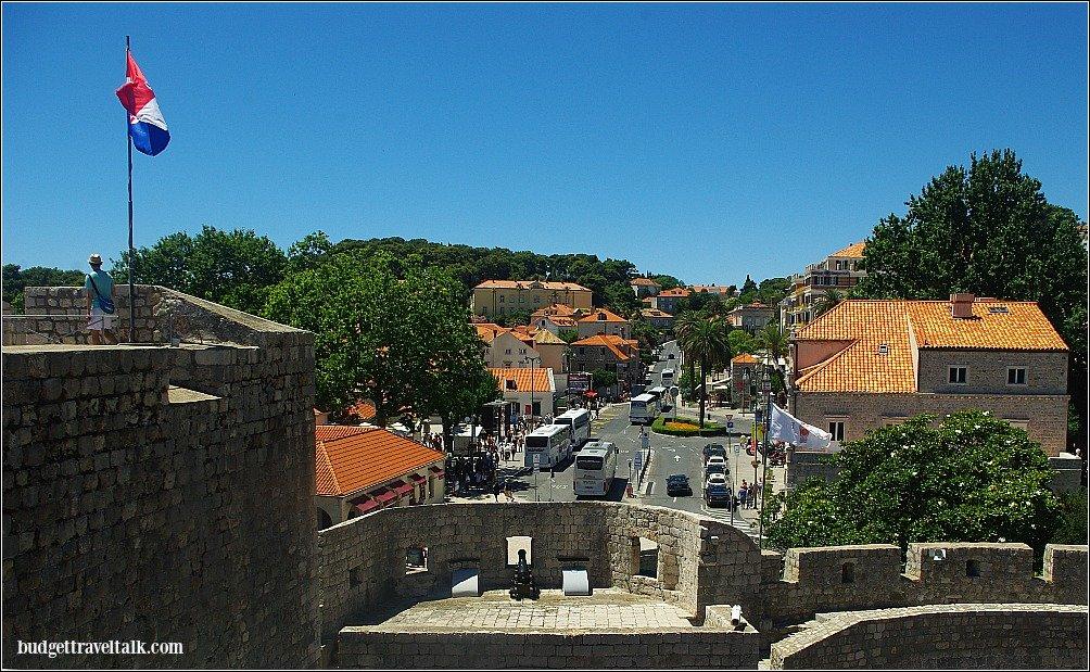 Dubrovnik Pile Gate Bus Depot