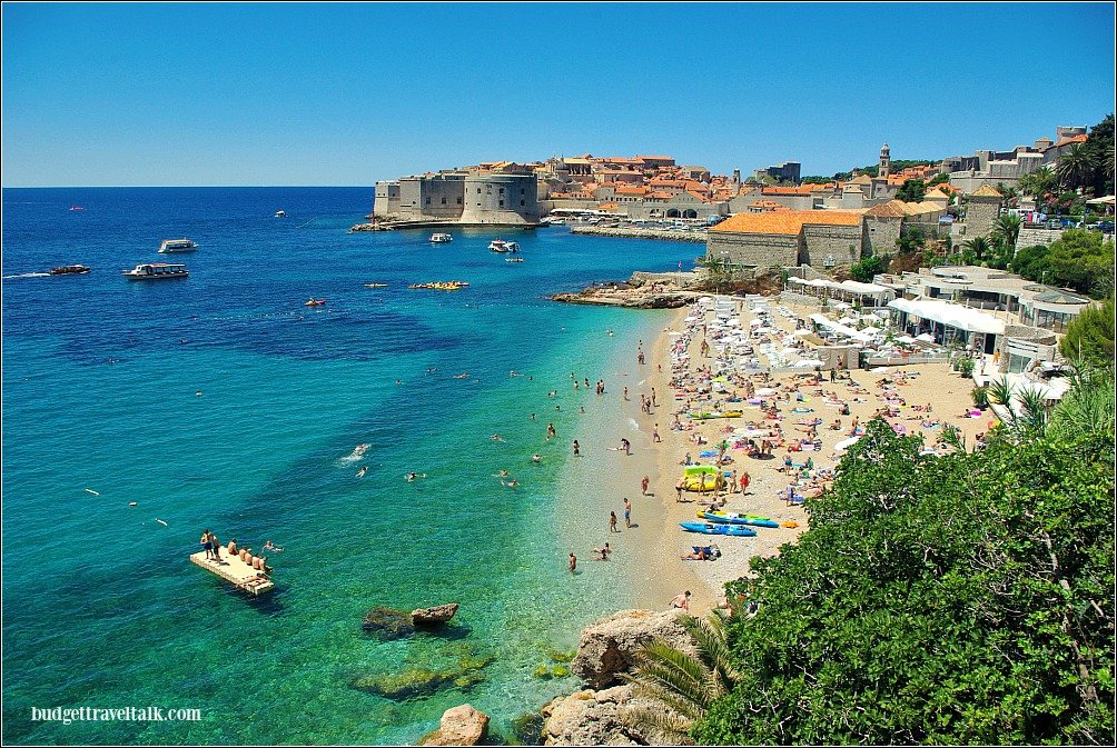 Dubrovnik and Banje Beach
