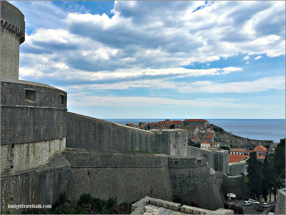 Dubrovnik from outside the walls