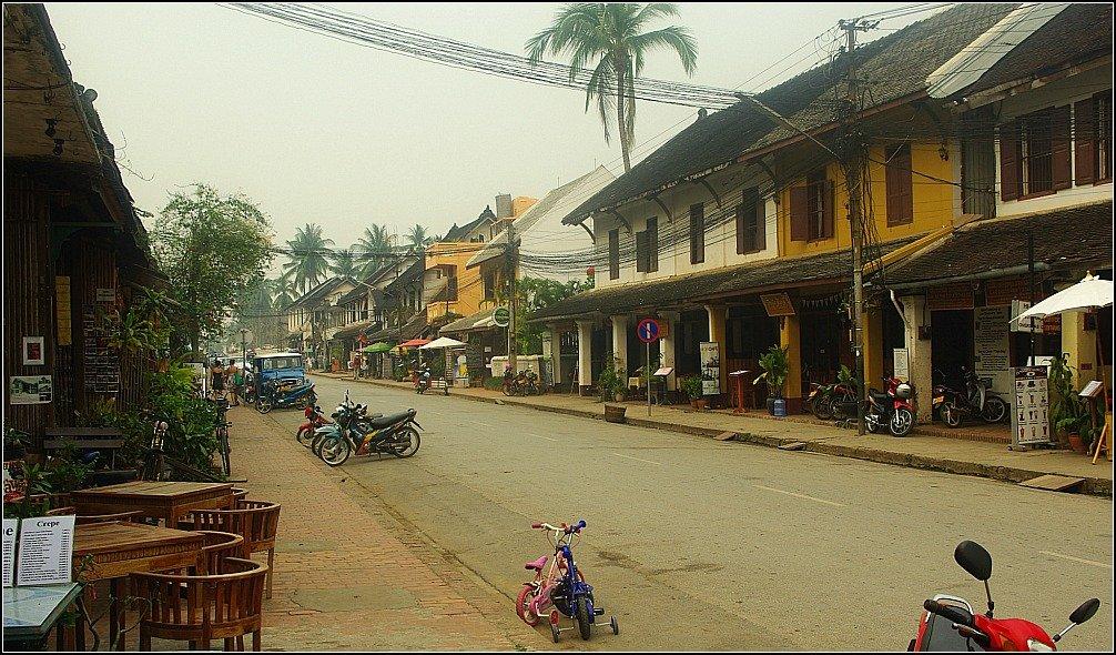 Main Street of Luang Prabang