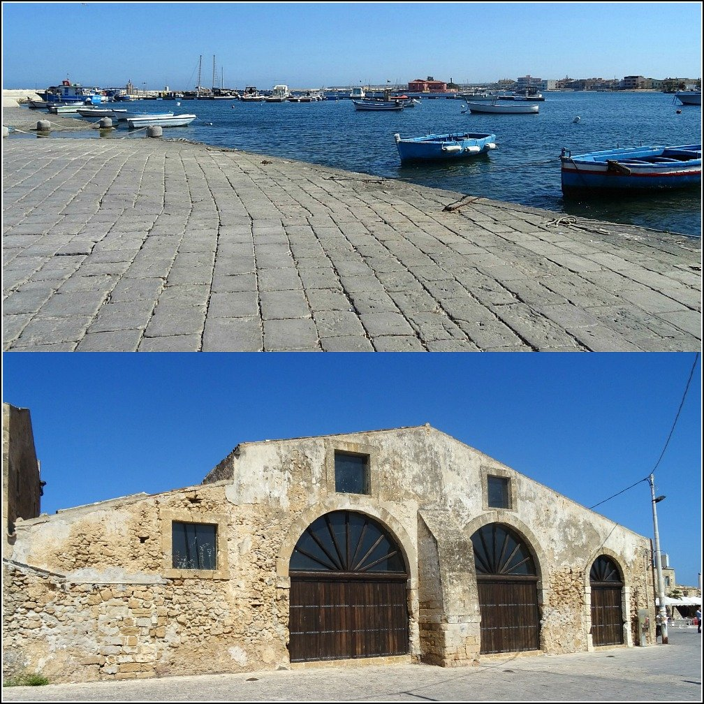 Marzamemi Old Tuna Factory and Harbour