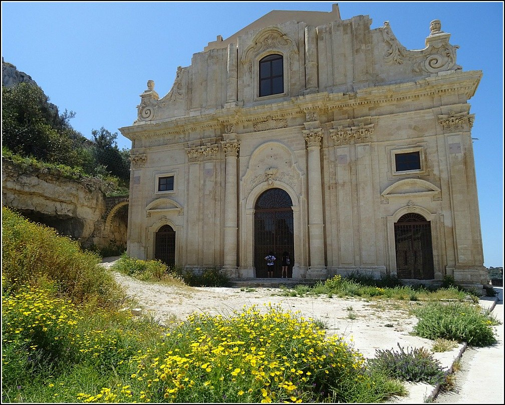 San Matteo Church Scicli in Sicily