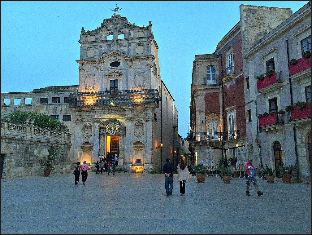 Santa Lucia Alla Badia in the Piazza Duomo