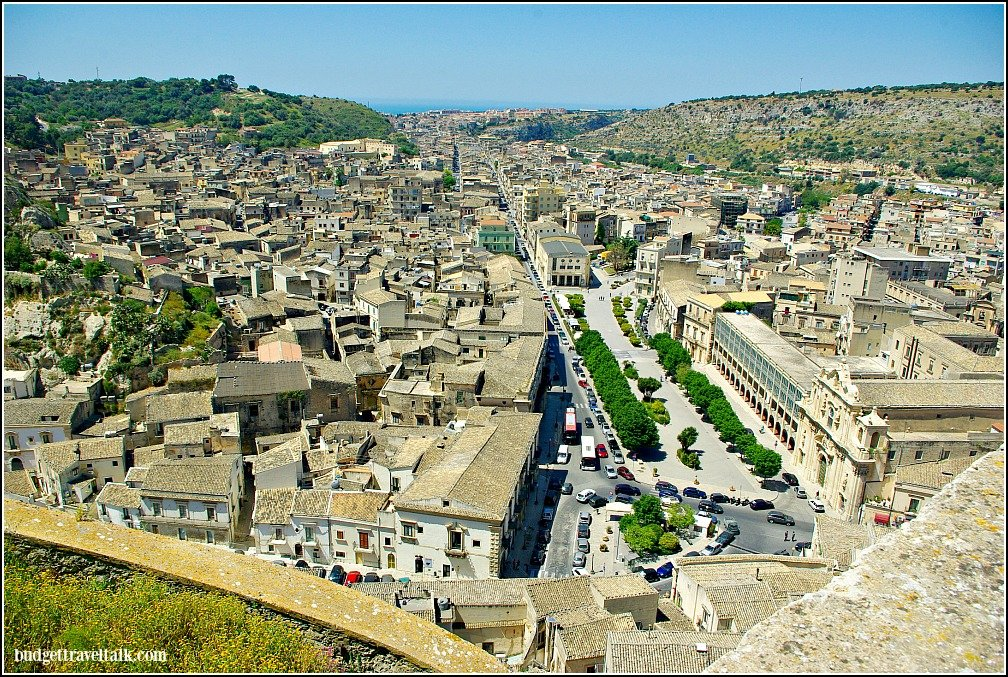 The Sicilian Baroque town of Scicli