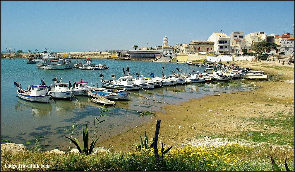 Scoglitti Harbour Sicily