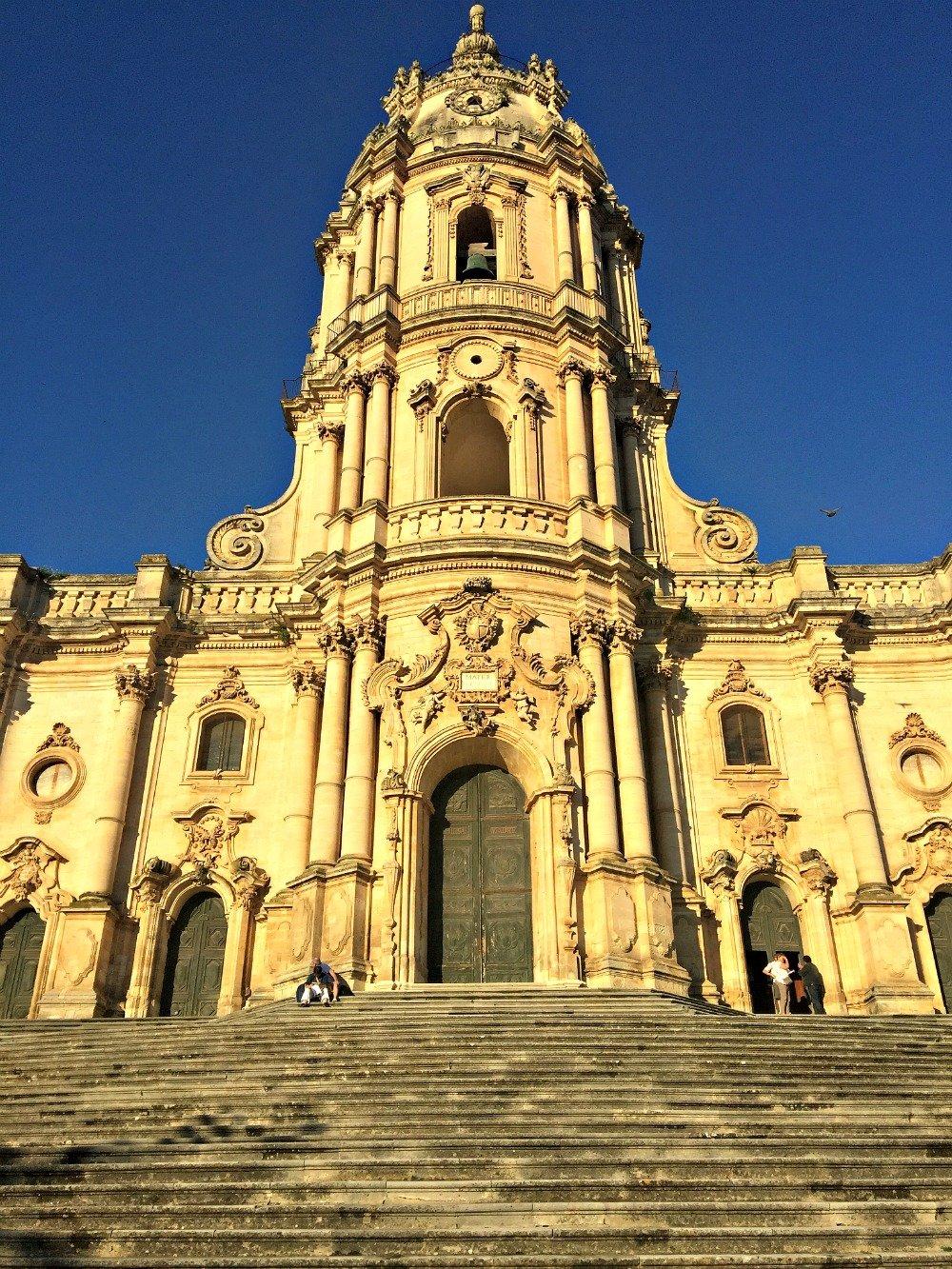 Southern Sicily San Giorgio Church Exterior Modica