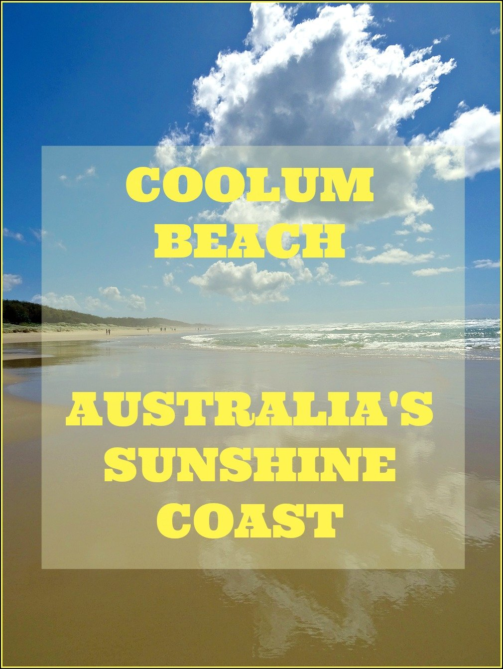 Coolum Beach on the Sunshine Coast of Queensland Australia