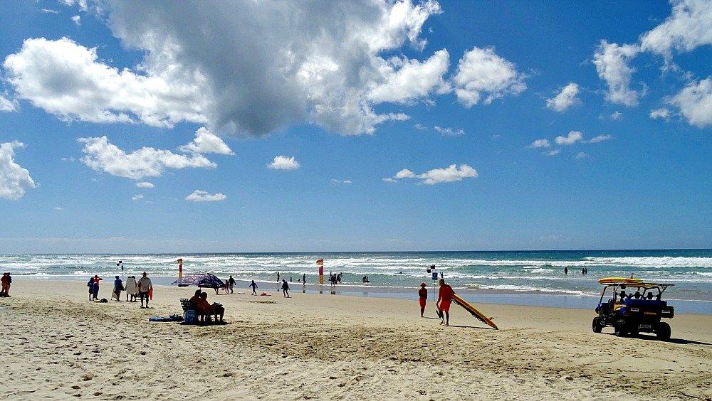 Coolum Beach Scene Australia