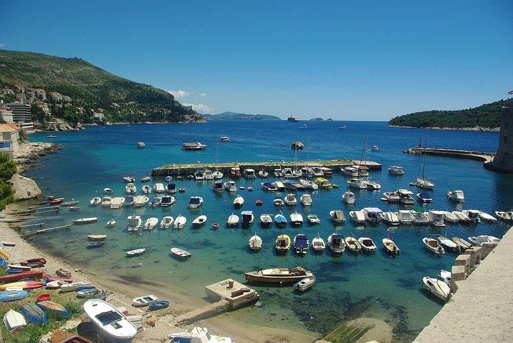 Dubrovnik Small Boat Harbour