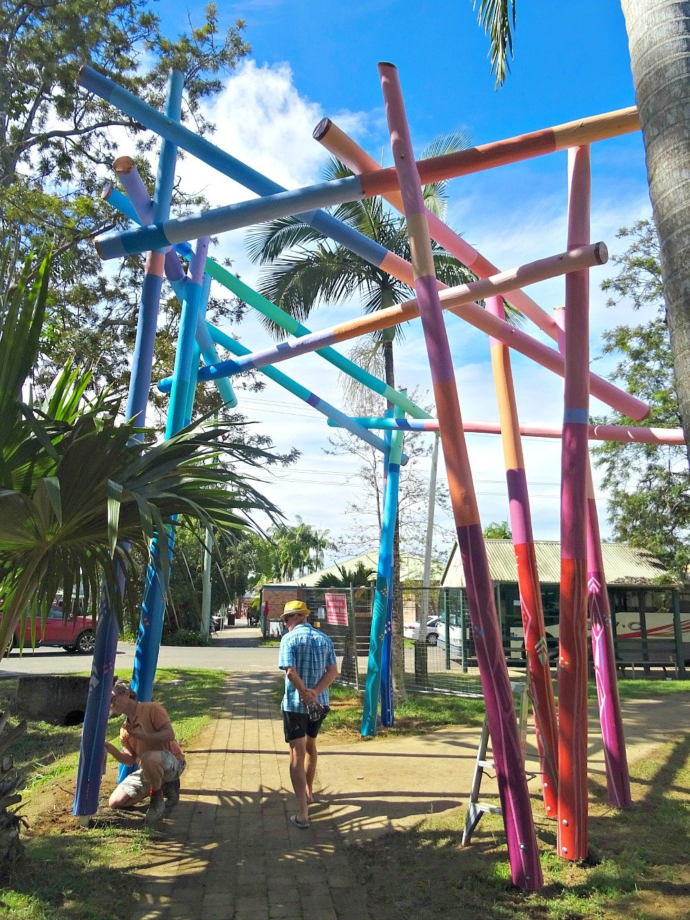 Mullum Sculpture Walk Entrance